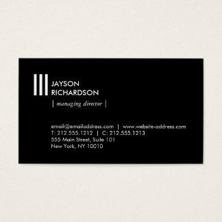 Cartão De Visitas Arquitetura simples moderna, construção, design 4