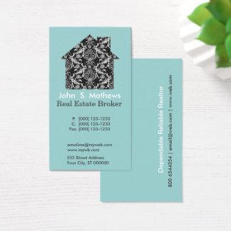 Cartão De Visitas Art deco profissional CASA Embellished do teste