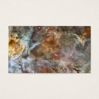 Cartão De Visitas Arte-cartão, a nebulosa de Carina