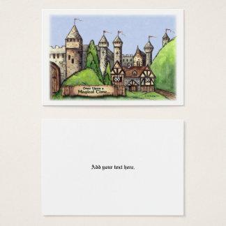 Cartão De Visitas Arte da vila do renascimento