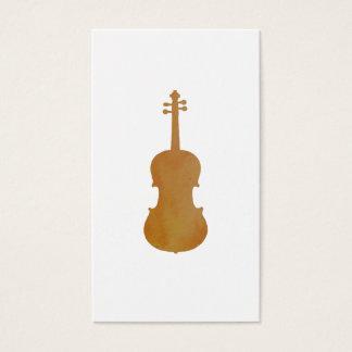Cartão De Visitas Arte da viola