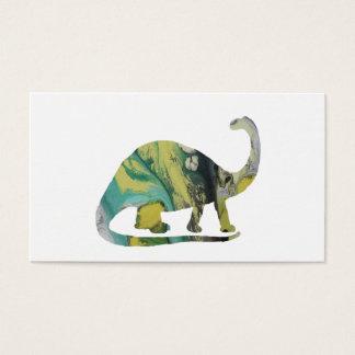 Cartão De Visitas Arte do Brontosaurus