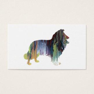 Cartão De Visitas Arte do Collie