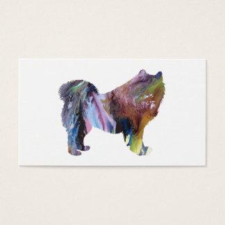 Cartão De Visitas Arte do Samoyed