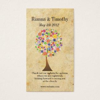 Cartão De Visitas Árvore de vida