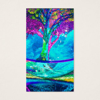 Cartão De Visitas Árvore de vida por Amelia Carrie