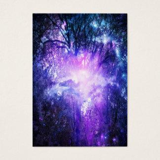 Cartão De Visitas Árvore Mystical