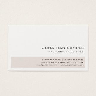 Cartão De Visitas As cores elegantes criativas profissionais na moda