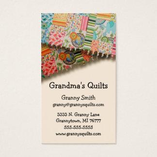 Cartão De Visitas As edredões da avó