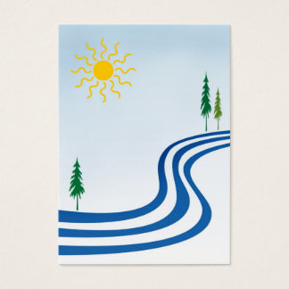Cartão De Visitas ATC preguiçoso do rio