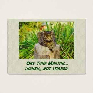 Cartão De Visitas Atum Martini