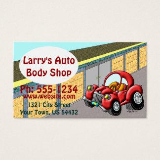 Cartão De Visitas Auto Body Shop