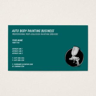 Cartão De Visitas Auto corpo que pinta | legal
