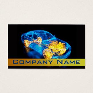 Cartão De Visitas Automotriz/competência/diagnóstico velocidade