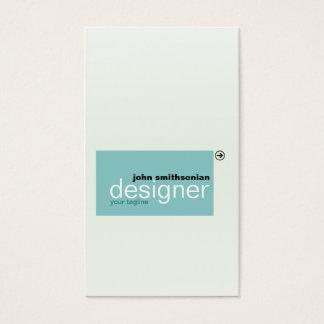 Cartão De Visitas Azulejos de Minimalistic