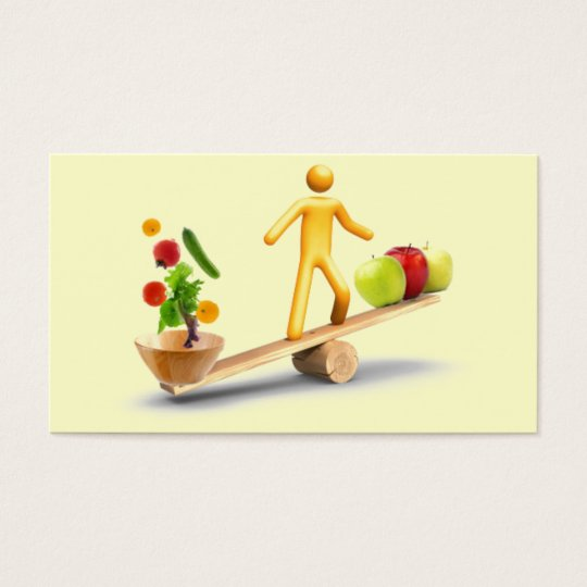 Cartão De Visitas Balance