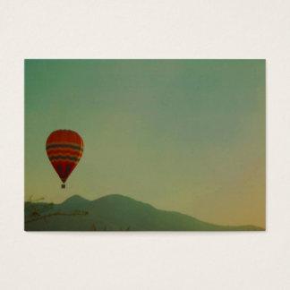 Cartão De Visitas balão de ar quente