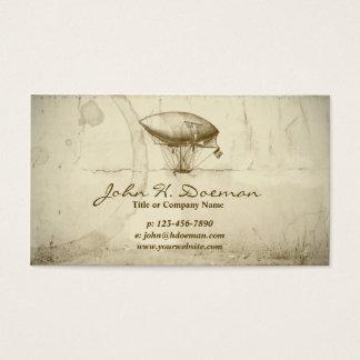 Cartão De Visitas Balão do Velho Mundo