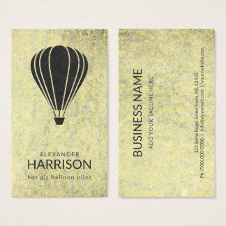 Cartão De Visitas Balloonist legal do piloto do balão de ar quente
