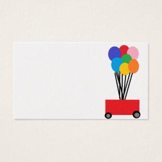 Cartão De Visitas balões