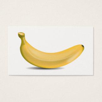 Cartão De Visitas Banana