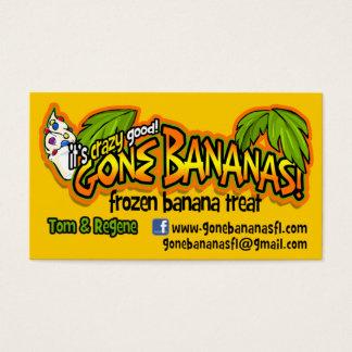 Cartão De Visitas Bananas idas