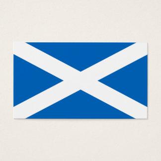 Cartão De Visitas Bandeira de Scotland - lembrança escocesa da