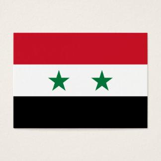 Cartão De Visitas Bandeira de Syria