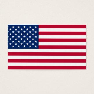 Cartão De Visitas Bandeira dos EUA