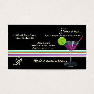 Cartão De Visitas Bar do barman/proprietário