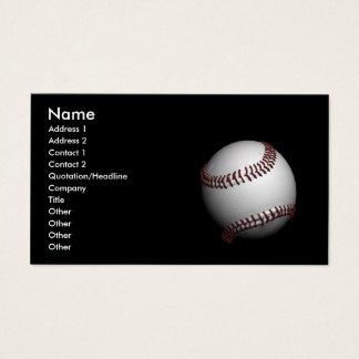 Cartão De Visitas basebol