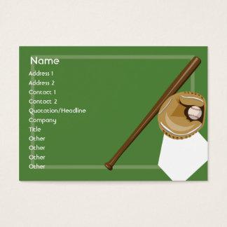 Cartão De Visitas Basebol - carnudo