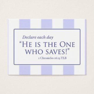 Cartão De Visitas BC GreatisFthfulness, BC DeclareEachDay, nome,…