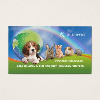 Cartão De Visitas BC para o distribuidor do produto orgânico
