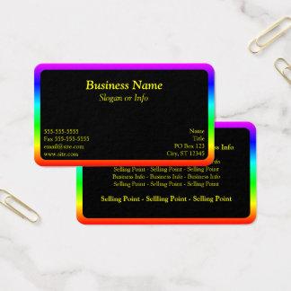 Cartão De Visitas Beira do arco-íris