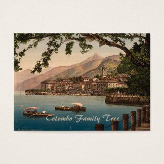 Cartão De Visitas Bellagio mim, lago Como, Lombardy, Italia