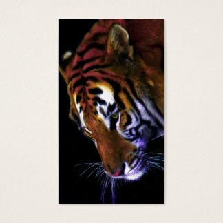 Cartão De Visitas benevolência de um tigre