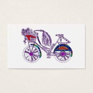 Cartão De Visitas Bicicleta