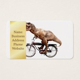 Cartão De Visitas Bicicleta da equitação de Trex