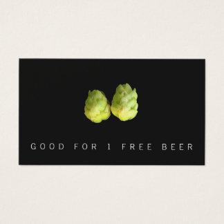 Cartão De Visitas Bilhete da cervejaria da cerveja dos saltos