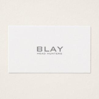 Cartão De Visitas BLAY, caçadores principais