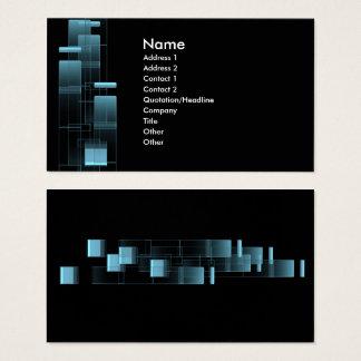 Cartão De Visitas bluebox do negócio