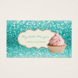 Cartão De Visitas Bokeh profissional, Glittery elegante moderno,