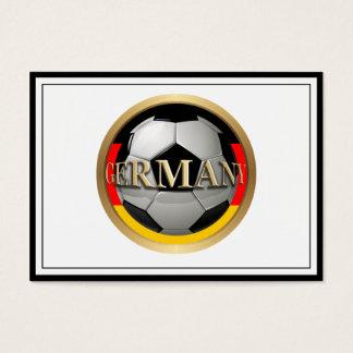 Cartão De Visitas Bola de futebol de Alemanha
