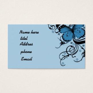 Cartão De Visitas Borboleta