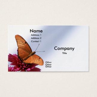 Cartão De Visitas Borboleta de Julia