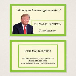 Cartão De Visitas Borda Freelance aninhada do verde limão do modelo