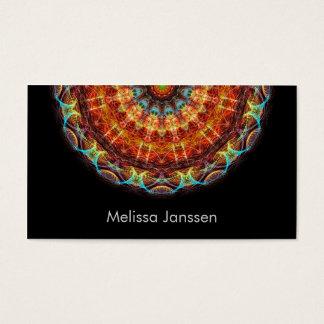 Cartão De Visitas Bordado - Mandala