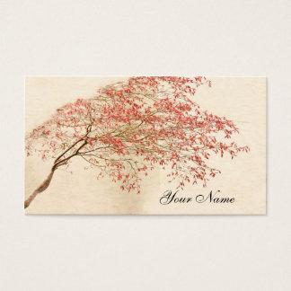 Cartão De Visitas Bordo japonês