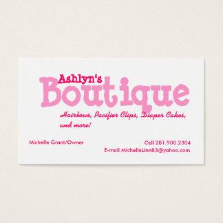 Cartão De Visitas Boutique